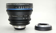 Cinematics Cine lens Tokina 11-20 f2.8 T3.1 PL for SONY A7S F55 C300 BMCC RED