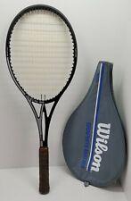 """Vtg Wilson Javelin 95 DWS Graphite Stefan Edberg """"W"""" Split Throat Tennis Racquet"""