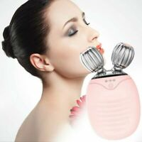 Electric Silicone Facial Cleansing Brush SonicVibration Massage Face Lift Roller
