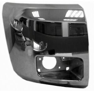 GM1005156 Front Right Side Bumper End Plastic Fits 12-13 Silverado 1500 Value
