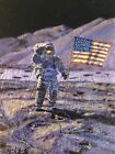 Jim Irwin, Indomitable Astronaut #AP 8/25 By Alan Bean ARTIST PROOF Print MINT