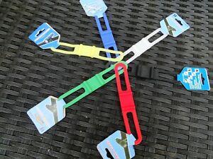 Color Elastic band Silikon Fahrrad Bike Taschenlampe Halterung Bandage Band