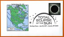 1901 -1950. Total Solar Eclipses of the Sun. North America,  FDC
