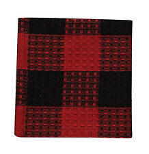 Dishcloth - Buffalo Check by Park Designs - Kitchen Dining Black Red