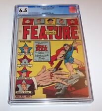 Feature Comics #83 - Quality Comics 1944 Golden Age issue - CGC FN+ 6.5