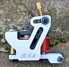 BORDER TATTOO MACHINE,LINER CUSTOM MICRO FRAME 10 LAYER 25MM RED COILS