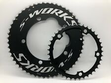 Specialized S-WORKS Ultra-Stiff Time Trial TT Chainrings 53/39 130mm BCD XCLLNT!
