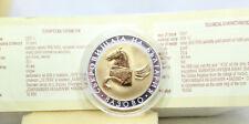 More details for bulgaria 2007 10 leva treasures of bulgaria  pegasus of vazovo silver mint coa