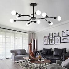 Large Chandelier Lighting Office Lamp Black Pendant Light Kitchen Ceiling Lights