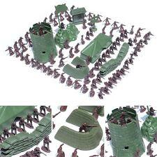 100 Stück Militär Kunststoff Spielzeug Soldaten Armee Krieg Männer 4cm Modell