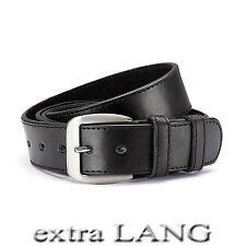 XXL Gürtel Überlänge 4 cm breit - kürzbar - bis 165 cm Bundweite /14-1 mit Leder