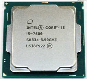 Intel Core i5 7600 3.5 Ghz