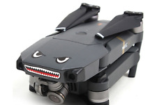 DJI Mavic Pro Drone Decal Sticker Skin Shark Face iPhone Android 2pc Accessories