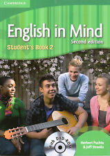 Cambridge ENGLISH IN MIND 2 Student's Book SECOND EDITION with DVD-ROM @New@