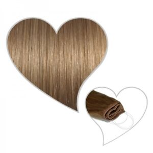 Easy Flip Extensions in karamellblond #14 40 cm 90 Gramm Echthaar Hair Secret