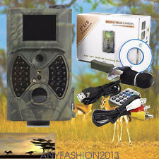 12MP HD Animal Hunting Trail Camera Video Scouting Infrared Night Vision HC 300A