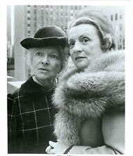 HELEN HAYES MILDRED NATWICK PORTRAIT THE SNOOP SISTERS ORIG 1974 NBC TV PHOTO