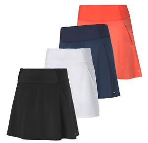 "Puma Womens PWRSHAPE Solid Woven Golf 16"" Skirt 595853 - New 2021"