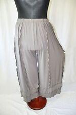 Myo-Layer Look Marlene Jersey Pants Wavy Seams Cappucino 75 cm Hips