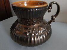 "Red Wing Bronze Line Pitcher Jug Vase #947 Circa 1965 - 5"" Tall"