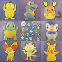 McDonalds Happy Meal Toy 2018 UK Pokemon Plastic Characters + Card - Various