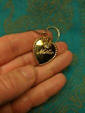 """""""Mother"""" Heart Pendant Necklace 23"""""""