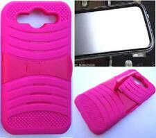 LG OPTIMUS G PRO E980 /E940 Phone Case WITH BUILT IN SCREEN PROTECTOR uPink/Pink