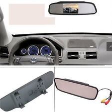 "4.3"" TFT LCD Monitor Mirror Screen Car Back Up Camera Kit Rear View System DVD"
