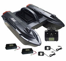 RC Boot Futterboot Köderboot Baitboat 5CG GPS Echolot und Sonar Funktion Schwarz