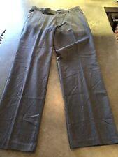Dockers Straight Fit Grey  Flat Front Dress Pants Mens Size 36x34 NWT