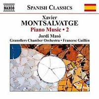 Jordi Maso - Montsalvatge Piano Music Vol2 [CD]