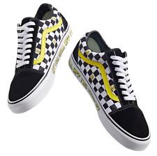 Vans x Spongebob (Old Skool) Black White Skate Shoes Men's Size 10.5 New Fast ⭐️