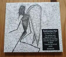 "Rudimentary Peni ""No More Pain"" CD E.P. Southern Records BOOBOOO9CD 2008"