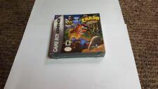 Crash Bandicoot: The Huge Adventure (Nintendo Game Boy Advance, 2002)