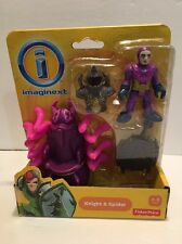 Imaginext Knight Spider Figure Fisher Price New Sealed Nib