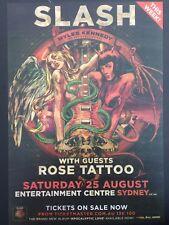 Slash Laminated Promotional Tour Poster Guns N' Roses