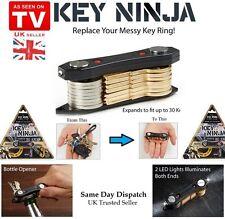 Key Ninja - Gadget Key Holder - Led Torch - Bottle Opener - Compact Organiser UK