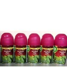 5 AirWick WOODLAND PINE Freshmatic Ultra Automatic Spray REFILLS FREE SHIP