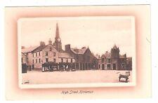 High Street Kirremuir Angus valentines unused postcard Scotland