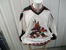 VINTAGE CCM NHL AUTHENTIC PHOENIX COYOTES SIZE 54 SEWN KACHINA JERSEY 1996-2003