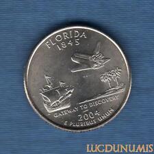 Etats Unis Quarter Dollar 2004 D Florida série des Etats Neuve Rouleau