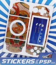 PSP STICKERS AUTOCOLLANT POUR PSP SLIM LIVRAISON RAPIDE QHUB