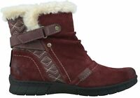 NEW PLANET SHOES JOFFA WOMENS COMFORTABLE LEATHER SUEDE FLAT ANKLE BOOTS