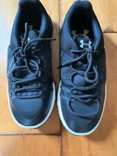 Under Armour Ultimate Speed Women's Shoes Black White Size 6 NEW No Box