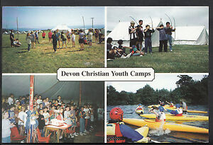 Relgion Postcard- Views of Devon Christian Youth Camps  LC3594