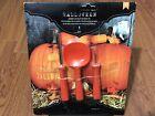 Halloween Pumpkin 3 Carving Tools & 6 Sheets of Vinyl Stickers Decor Kit 376607
