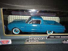 Motormax Ford Ranchero 1960 Greenish Blue 79321 1/24