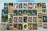 1992+ JASON GIAMBI Rookie-SP-Base Lot x 57 Topps Traded Dairy Queen Silver TSC