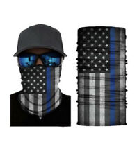 USA Flag Face Mask Bandana Neck Gaiter Head Band Multi-Use Tube Scarf Face Cover