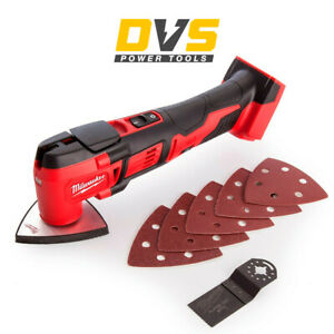 Milwaukee M18BMT-0 18V Compact Multi-Tool Body Only with Accessories